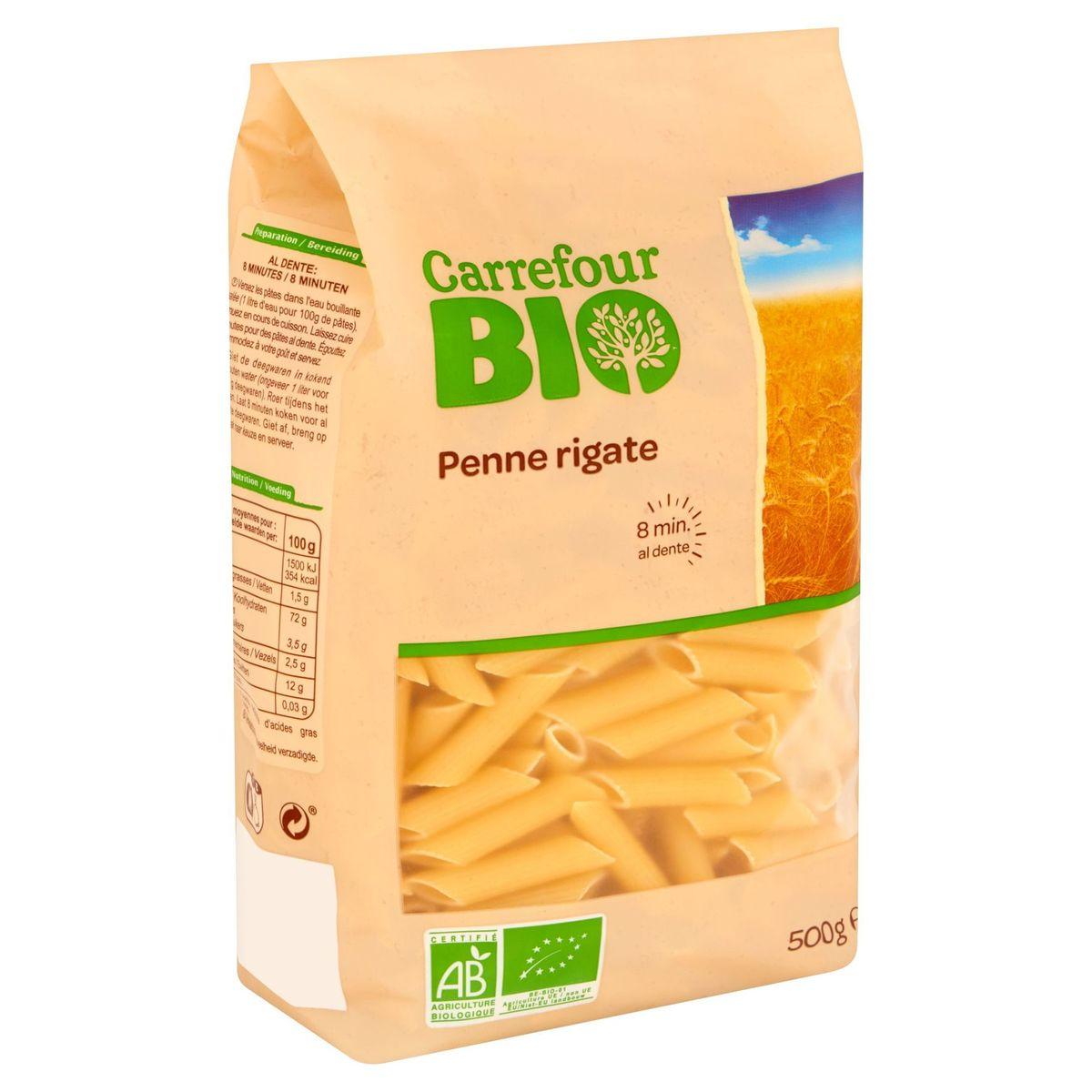 Carrefour Bio Penne Rigate 500 g