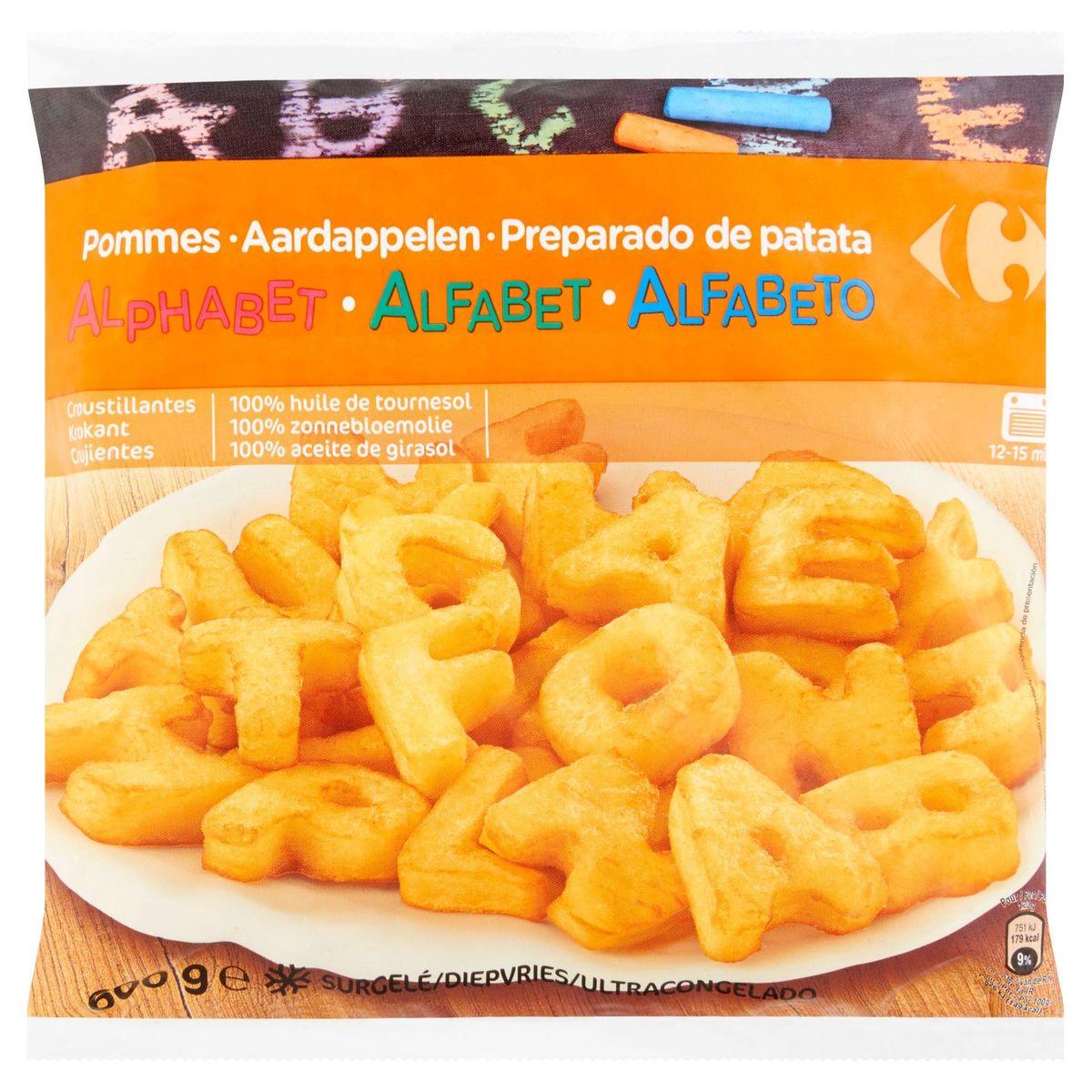 Carrefour Aardappelen Alfabet 600 g