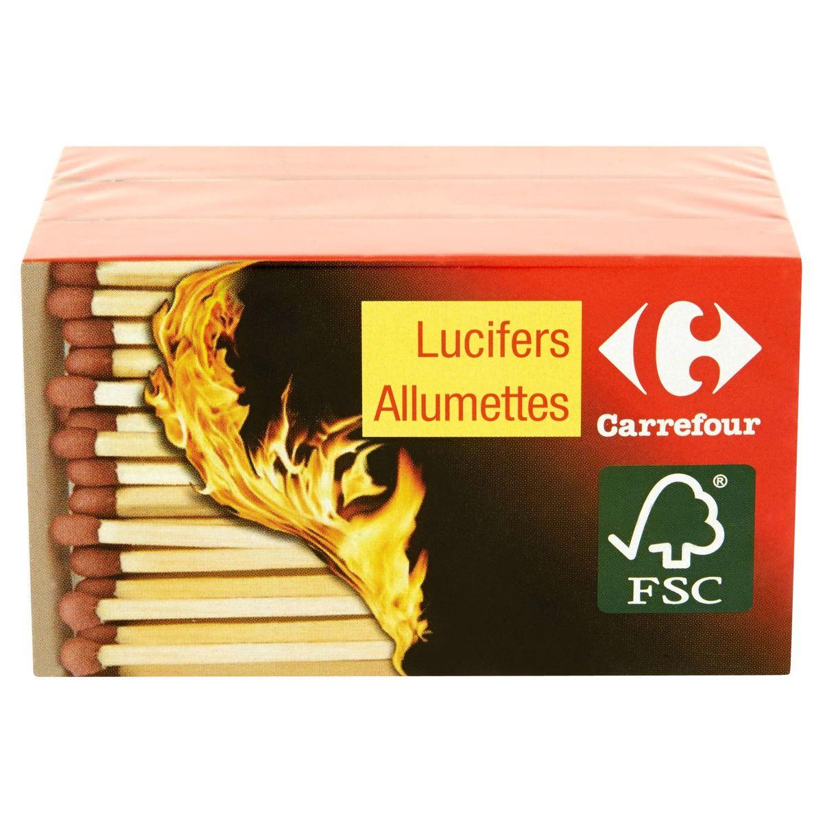 Carrefour Lucifers x3