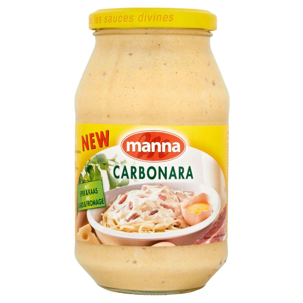 Manna Carbonara au Lard & Fromage 500 g