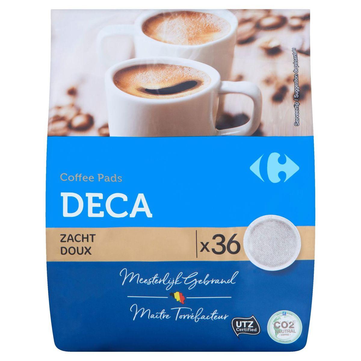 Carrefour Coffee Pads Deca Doux 36 x 7 g