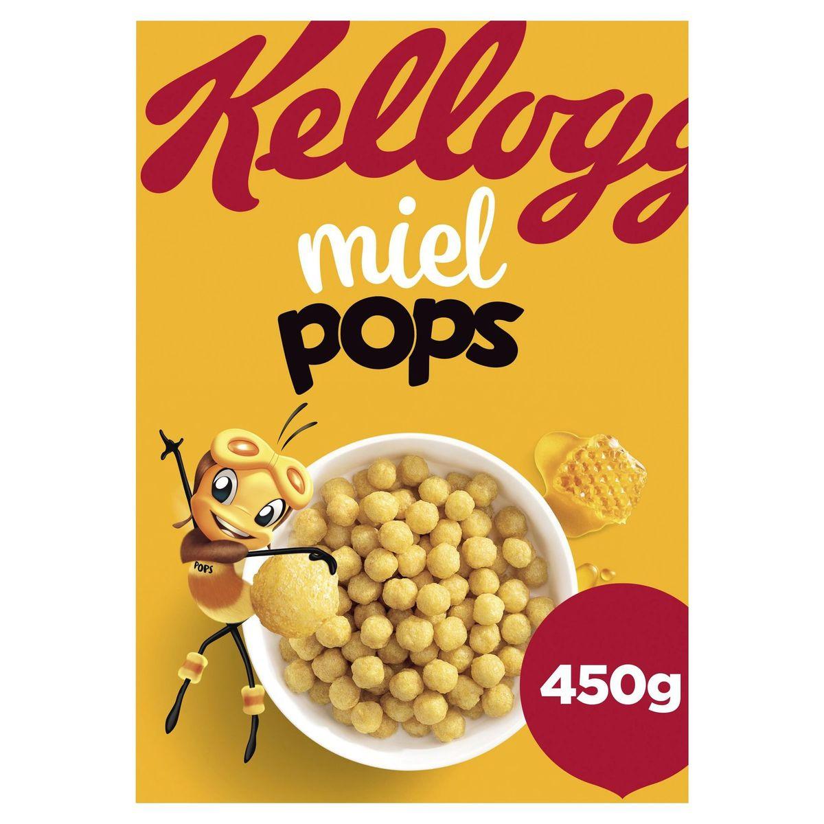 Kellogg's Miel Pops 450 g