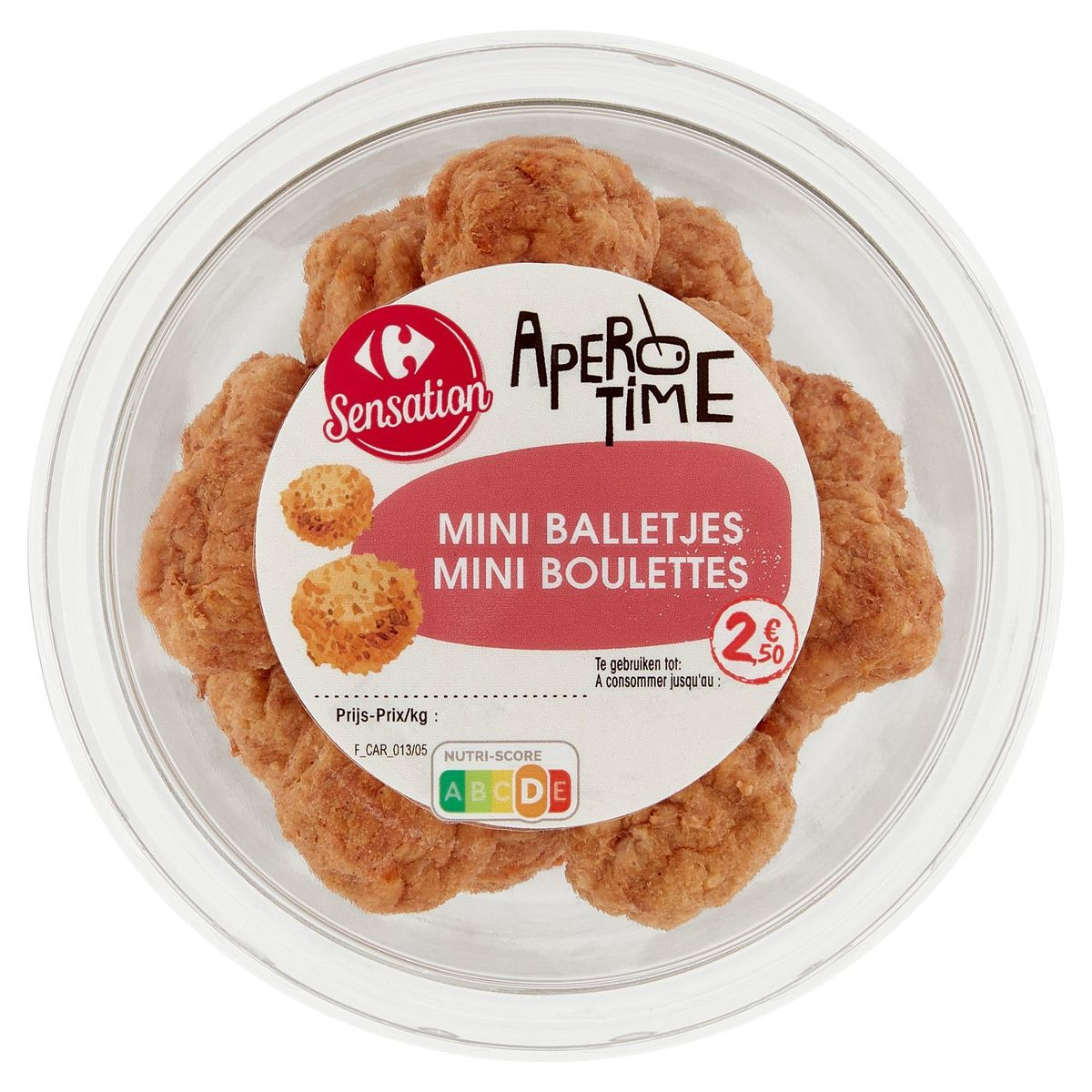 Carrefour Apero Time Mini Boulettes 150 g
