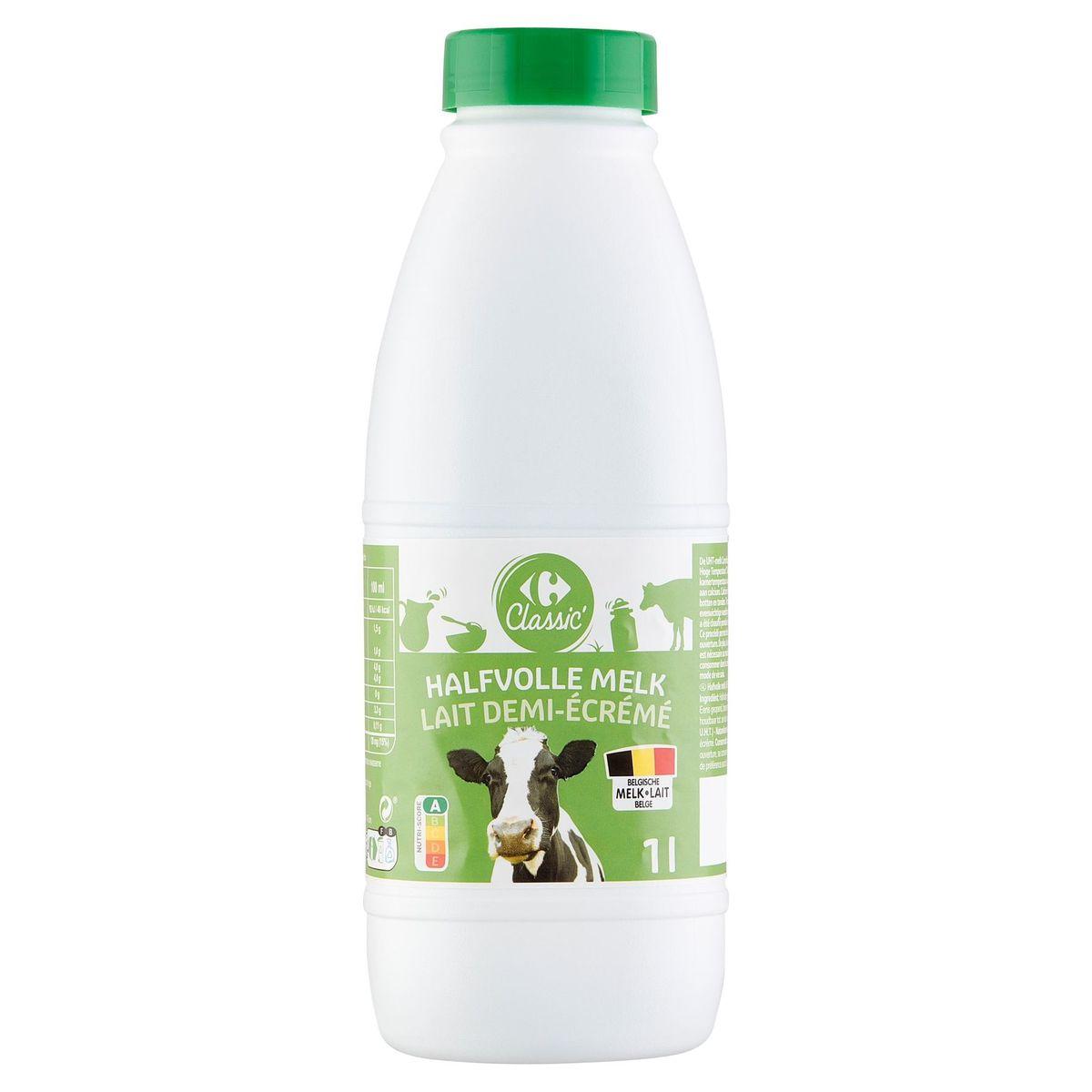 Carrefour Lait Demi-Écrémé 1 L
