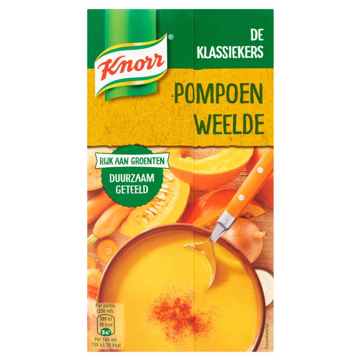 Knorr Soupe en Brique Douceur de Poitron 1 L