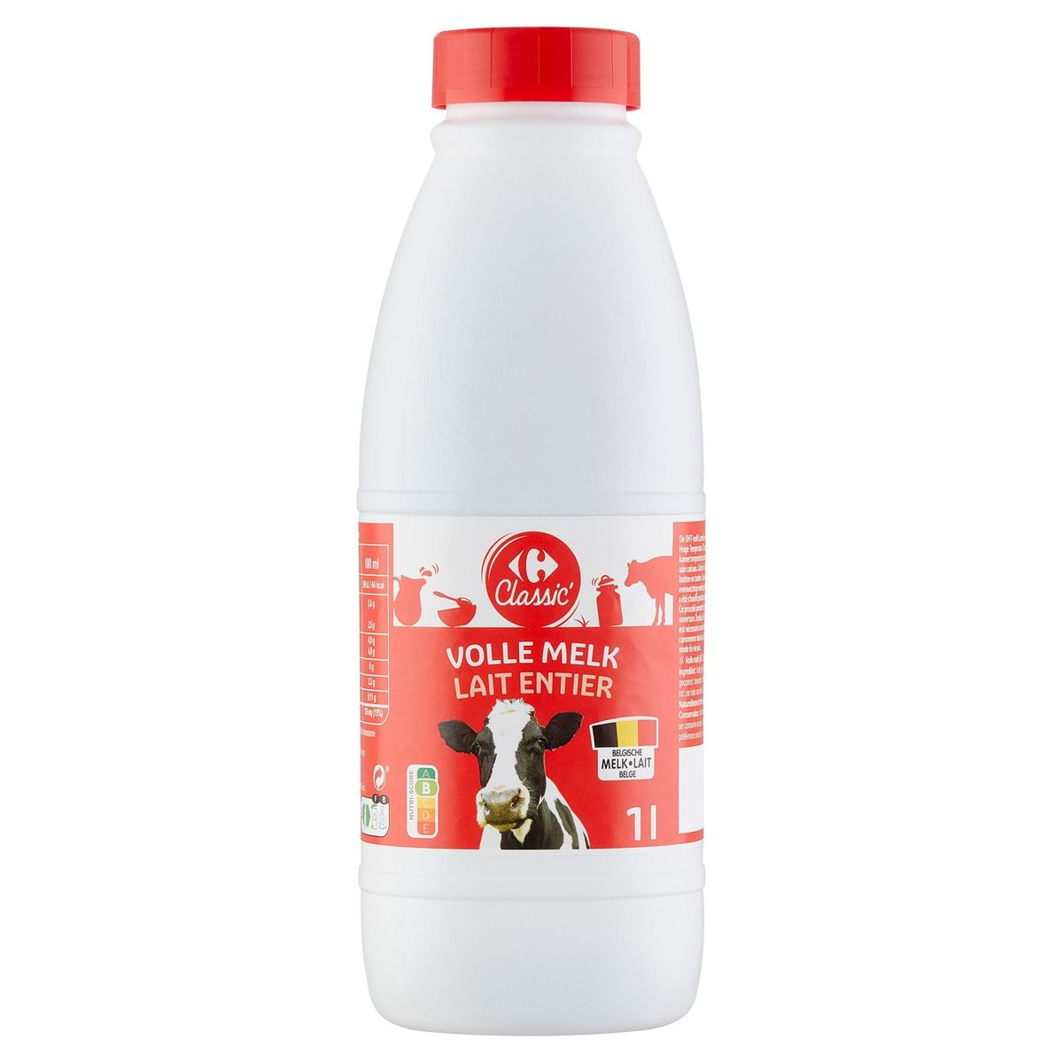 Carrefour Lait Entier 1 L