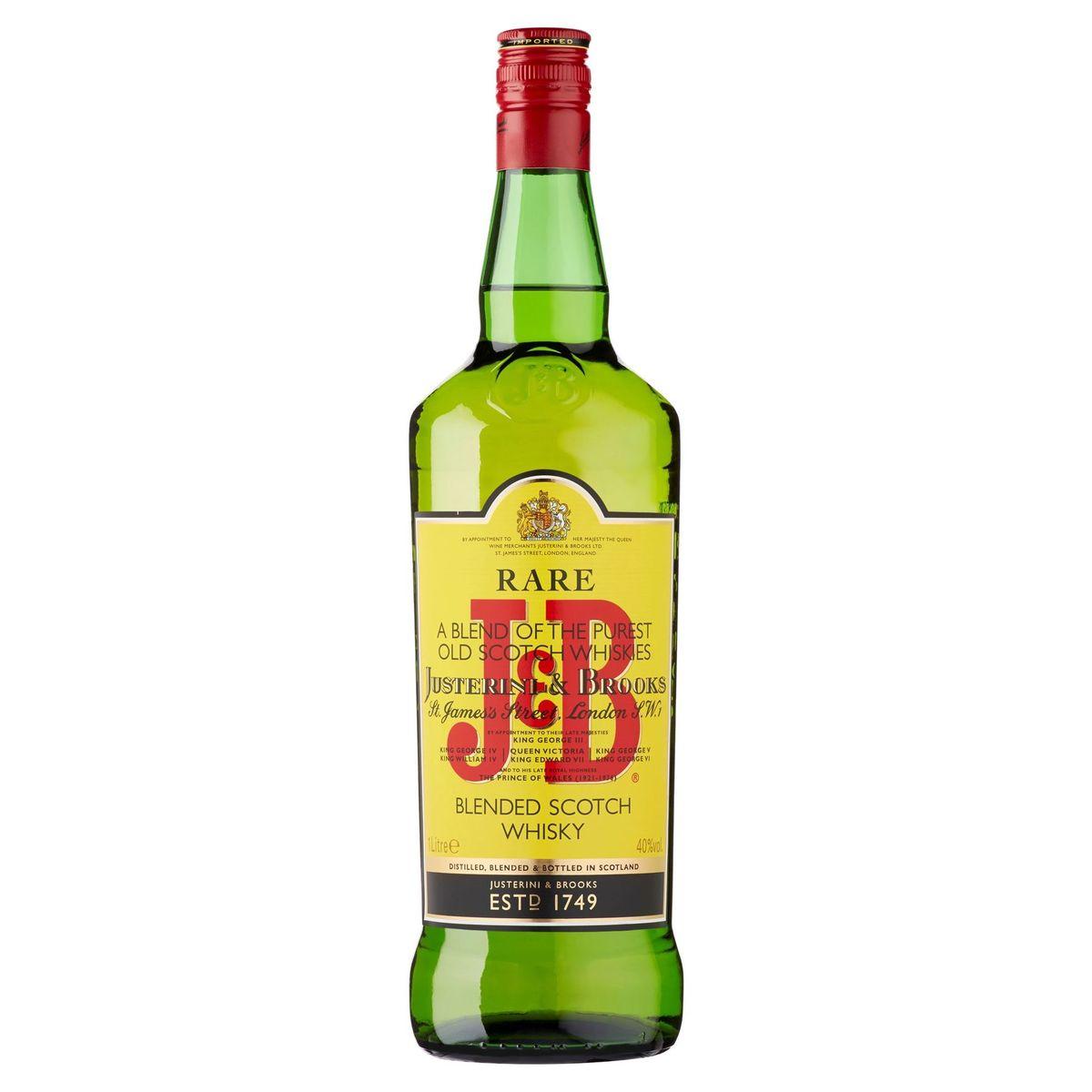 J&B Rare Blended Scotch Whisky 1 L