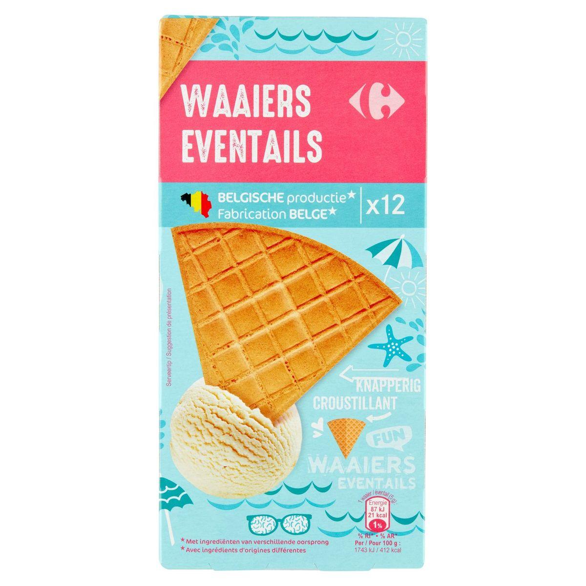 Carrefour Éventails Croustillant 12 Pièces 50 g