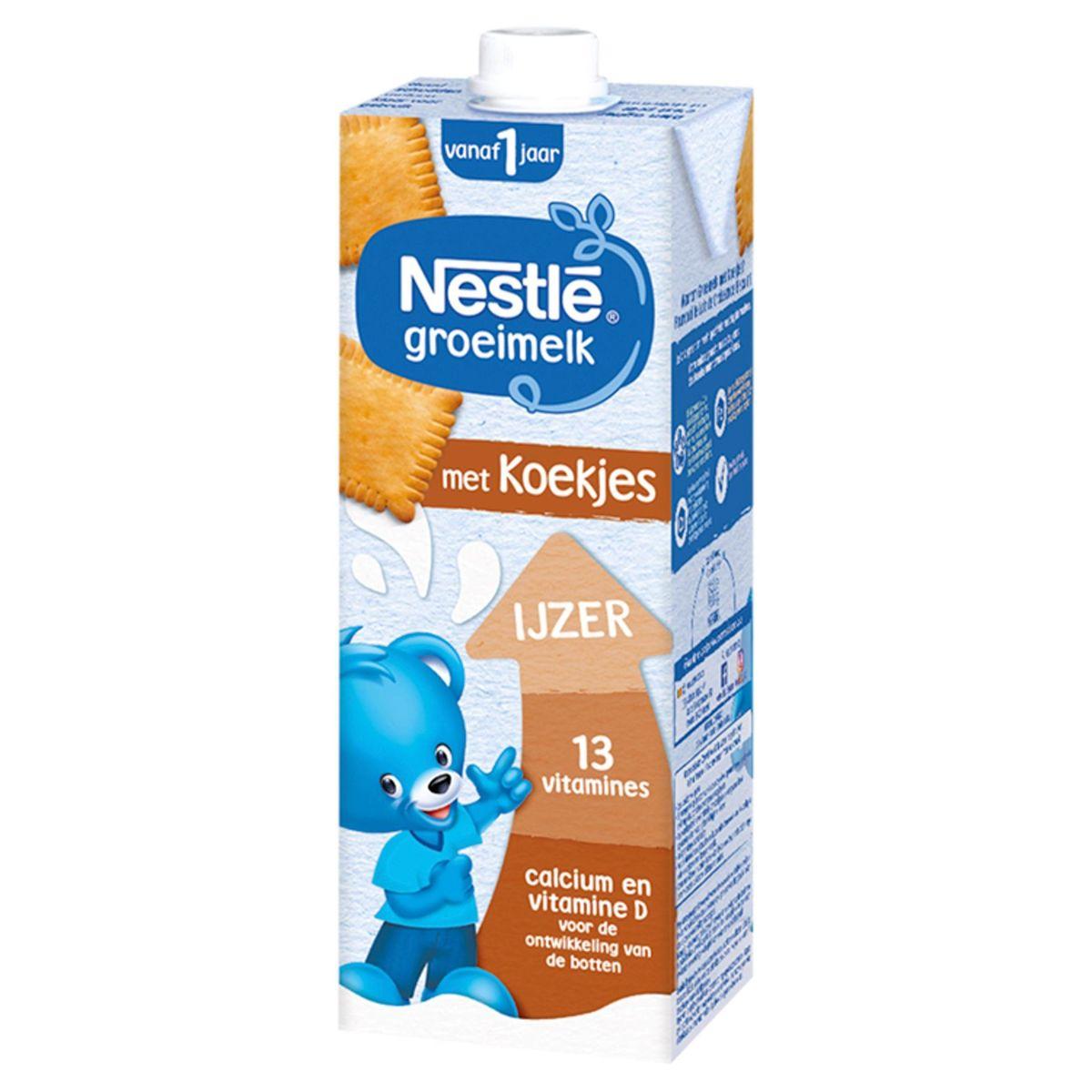 Nestlé Lait de Croissance Biscuit dès 1 An 1 L