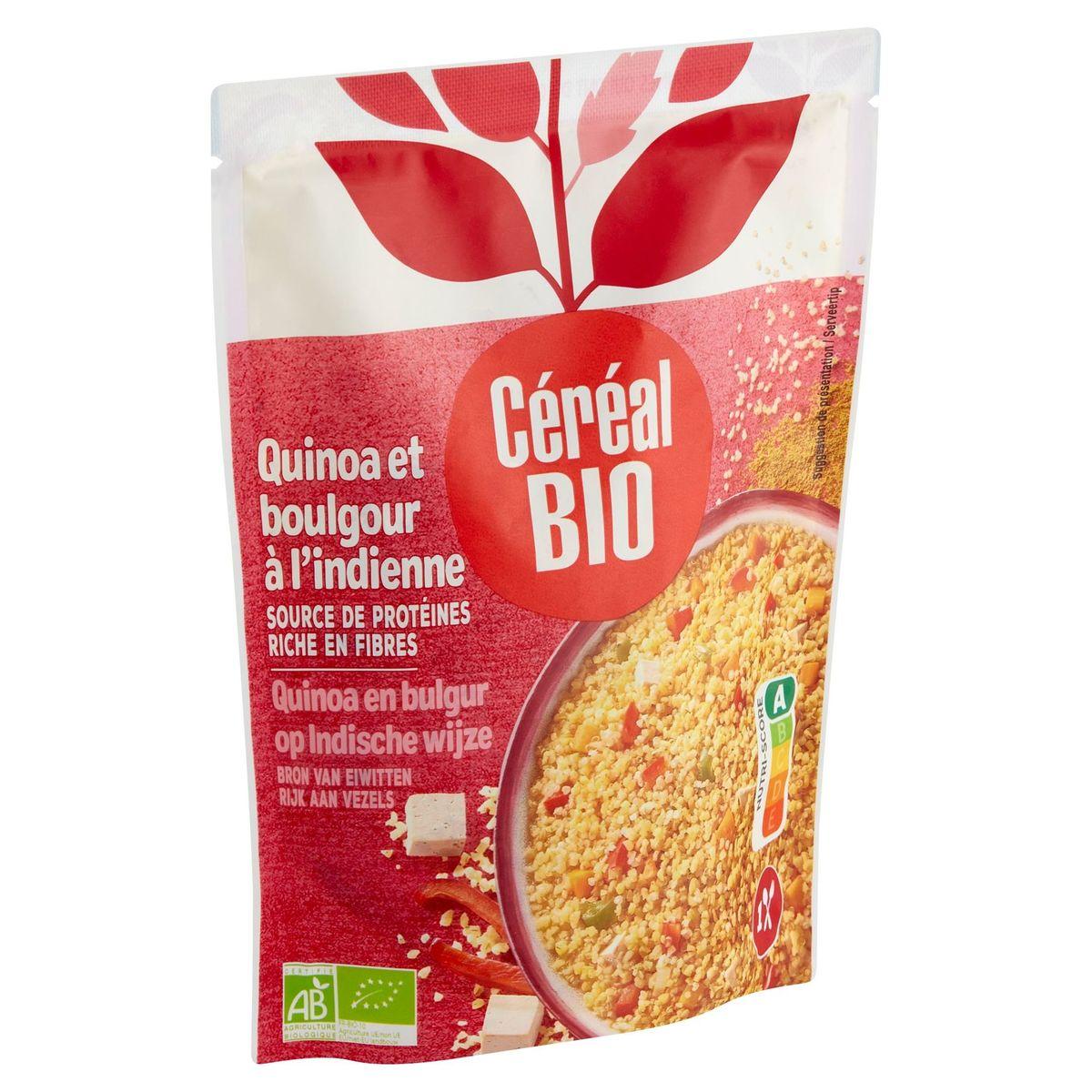 Céréal Bio Cuisiné Quinoa & Boulghour à l'Indienne 220 g
