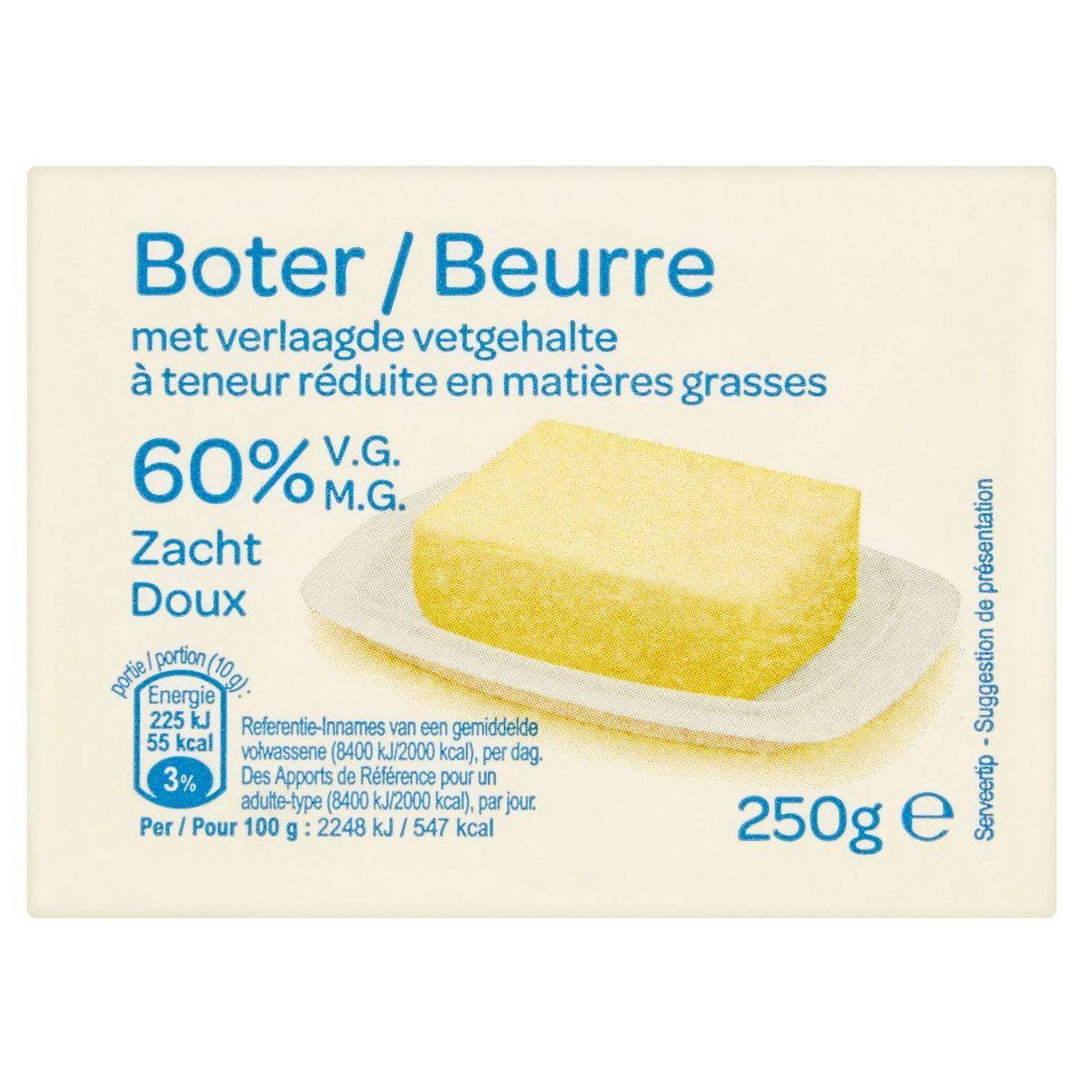 Boter 60% V.G Zacht 250 g