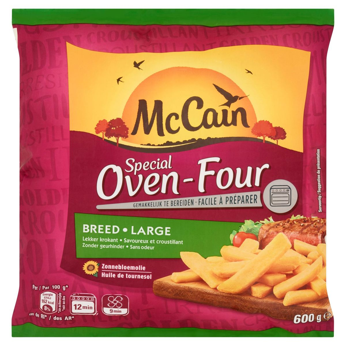 McCain Oven frieten Breed 600 g