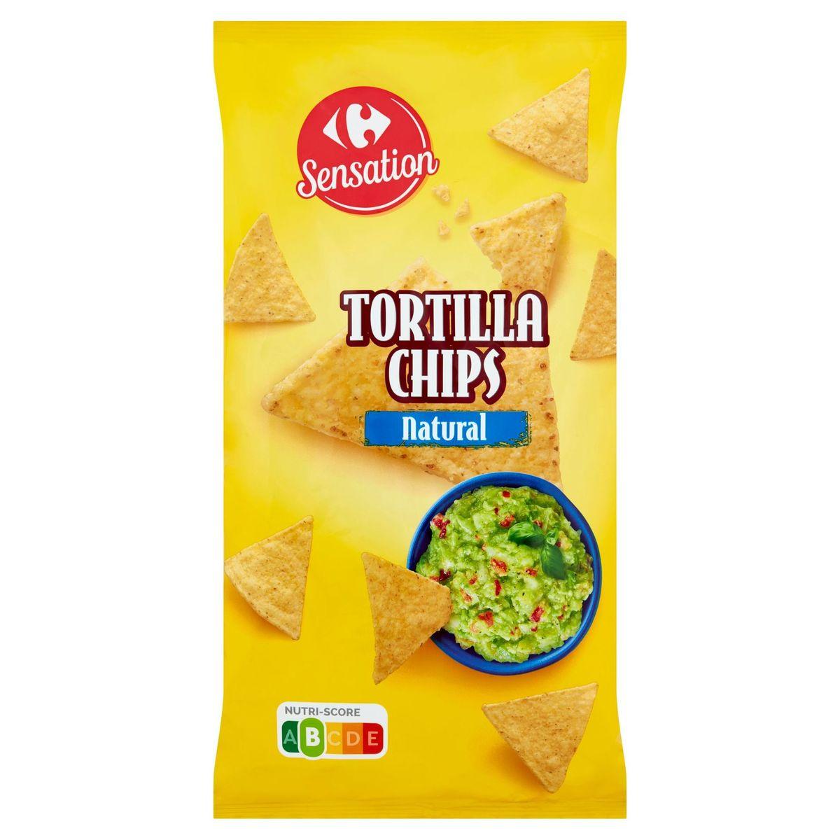 Carrefour Sensation Tortilla Chips Natural 200 g