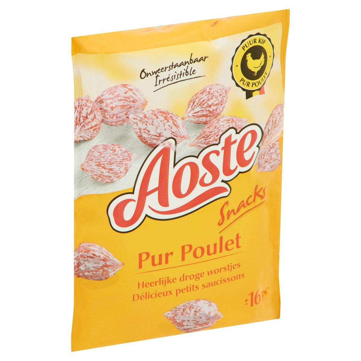 Aoste Snacks Pur Poulet 80 g