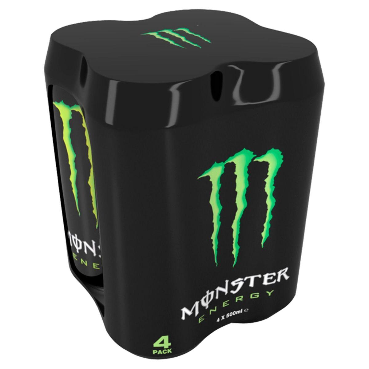 Monster Energy 4 x 500 ml