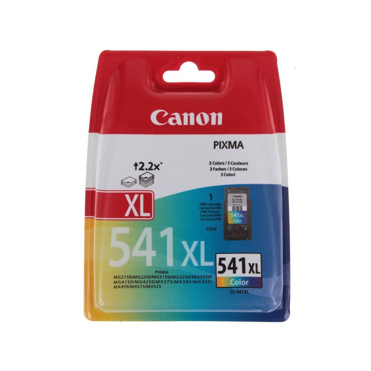Canon - Inktcartridge CL-541XL - Drie-kleuren C/M/Y