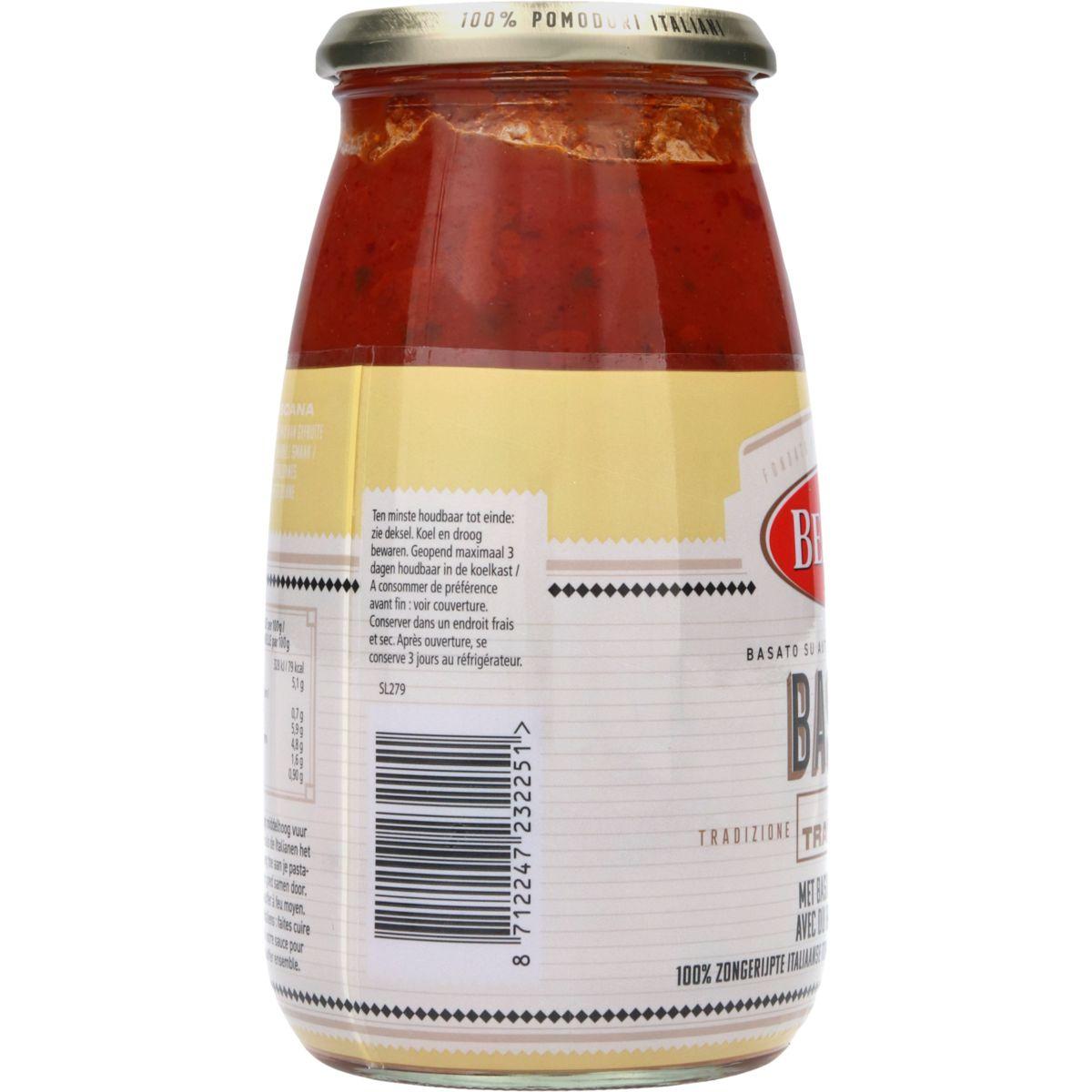 Bertolli Pastasaus Basilico 700 g
