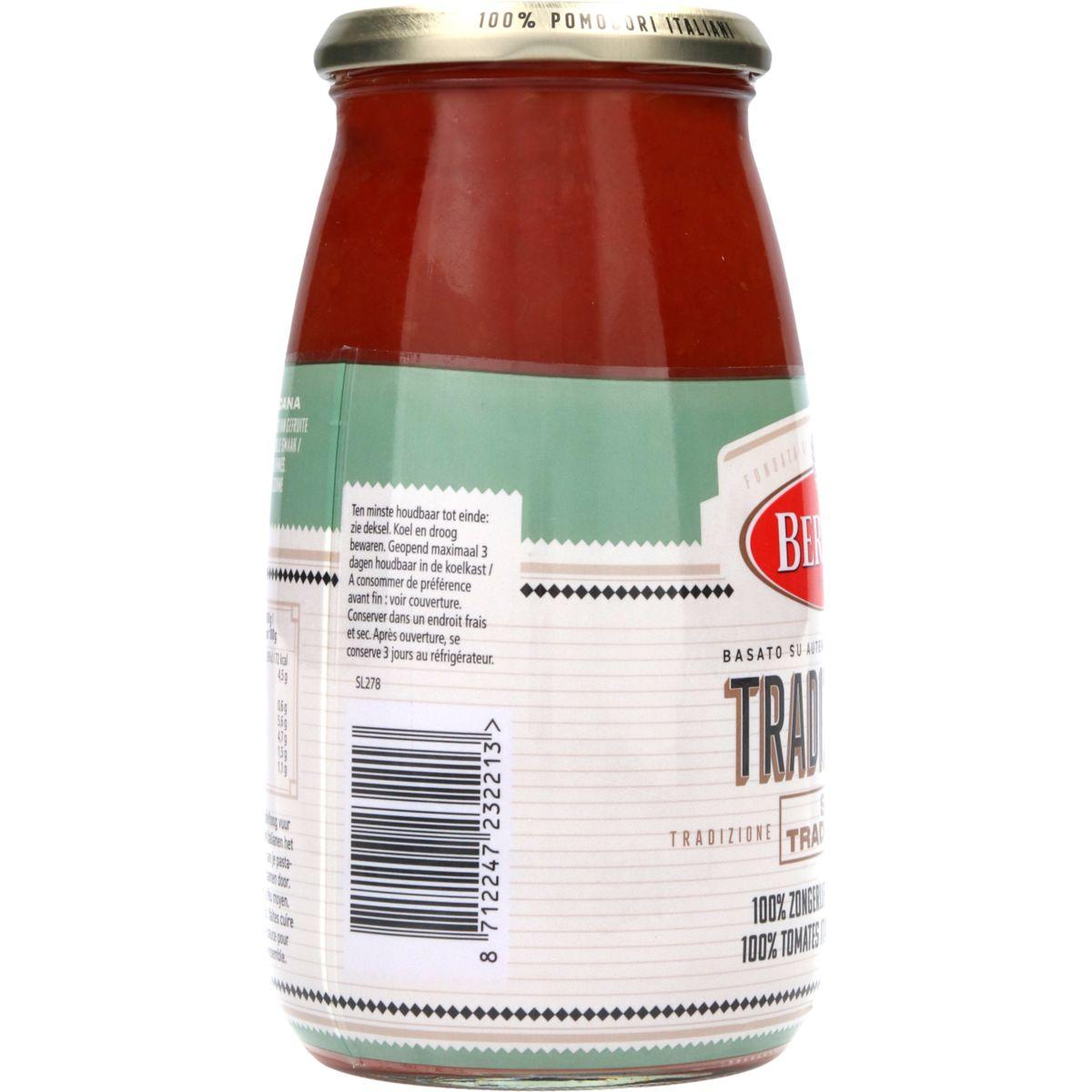 Bertolli Pastasaus Tradizionale 700 g