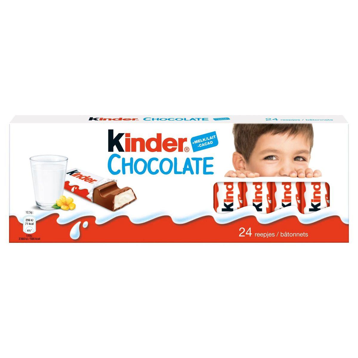 Kinder Chocolate 24 Bâtonnets 300 g