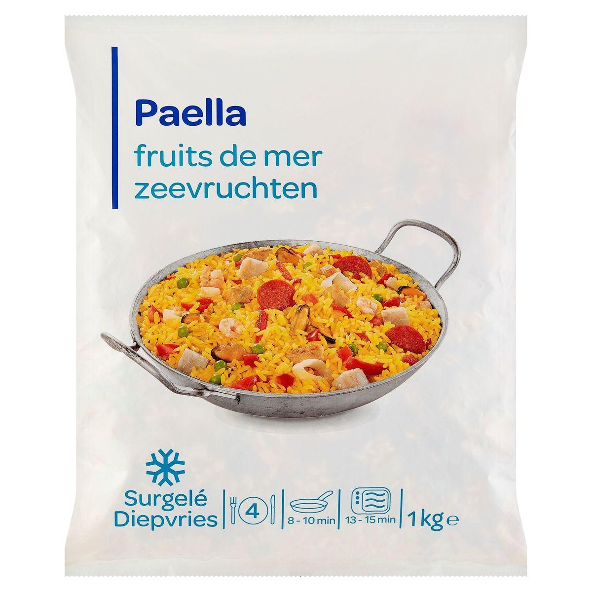 Paella Poulet, Fruits de Mer 1 kg