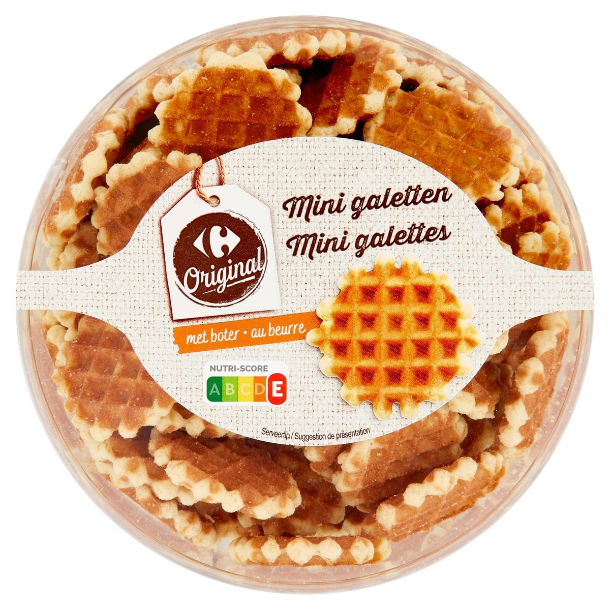 Carrefour Original Mini Galettes au Beurre 450 g