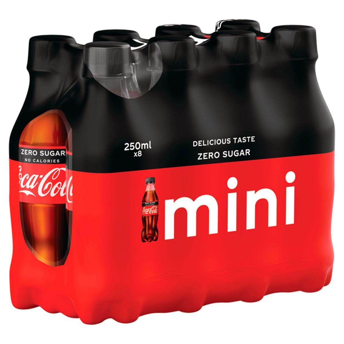 Coca-Cola Zero Sugar 8 x 250 ml