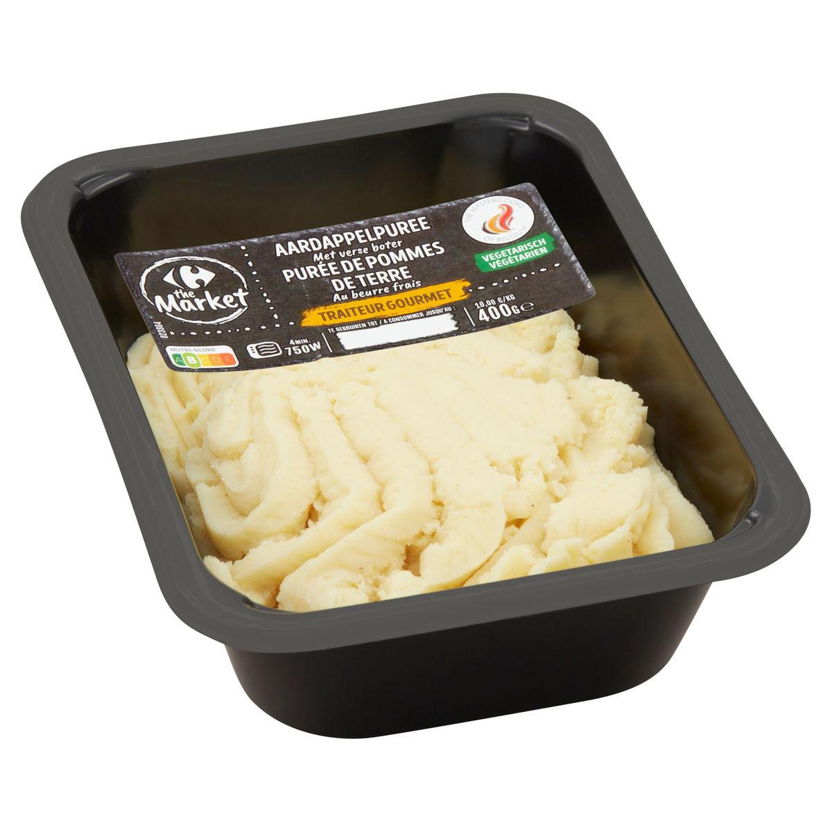 Carrefour Purée de Pommes de Terre au Beurre Frais 400 g