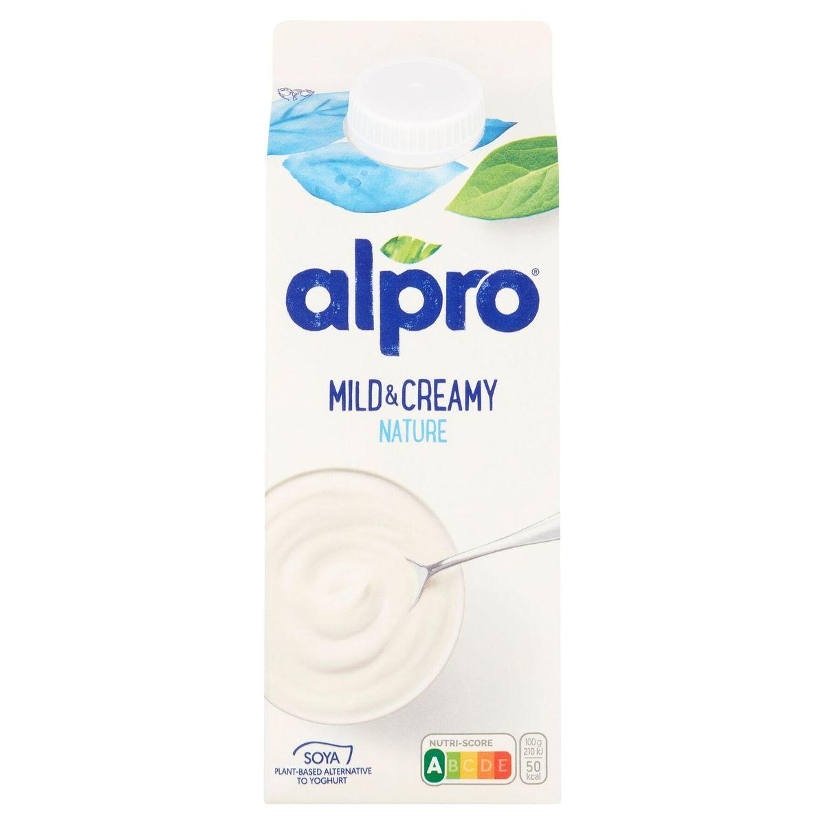 Alpro Mild & Creamy Natuur 750 g
