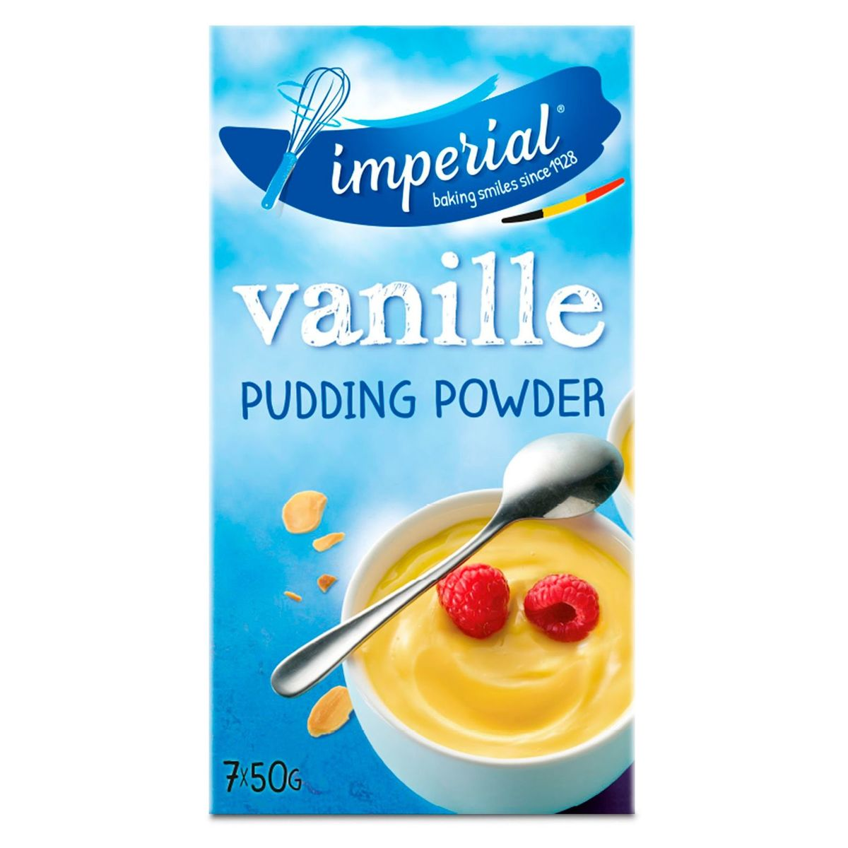 Imperial Pudding Powder Pudding Vanille 7 x 50 g