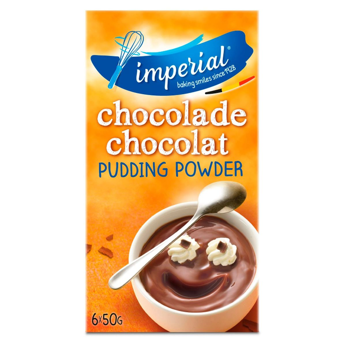 Imperial Pudding Powder Chocolade Smaak 6 x 50 g