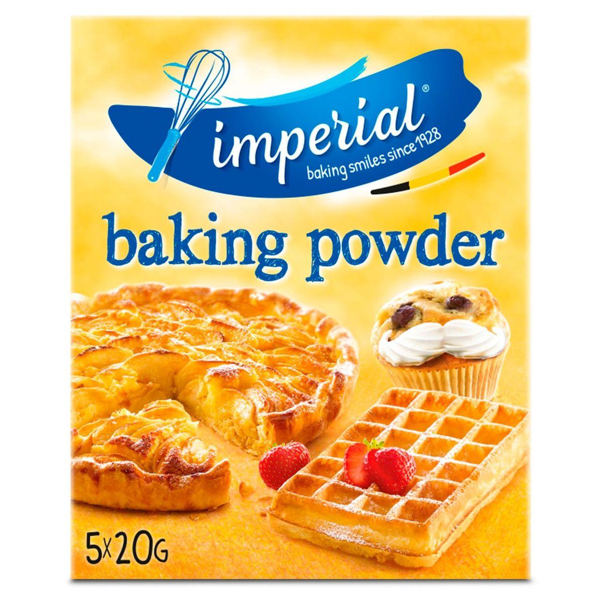 Imperial Baking Powder 5 x 20 g