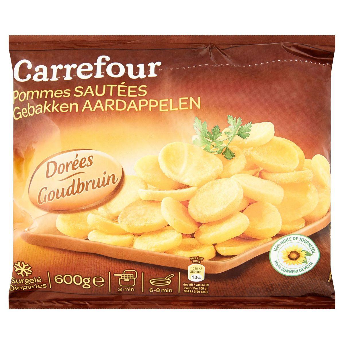 Carrefour Gebakken Aardappelen Goudbruin 600 g