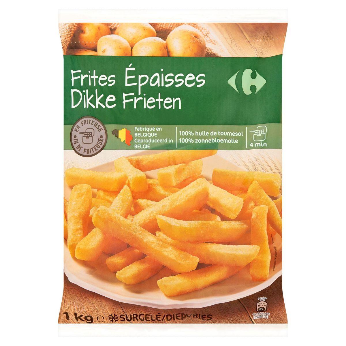 Carrefour Frites Épaisses 1 kg