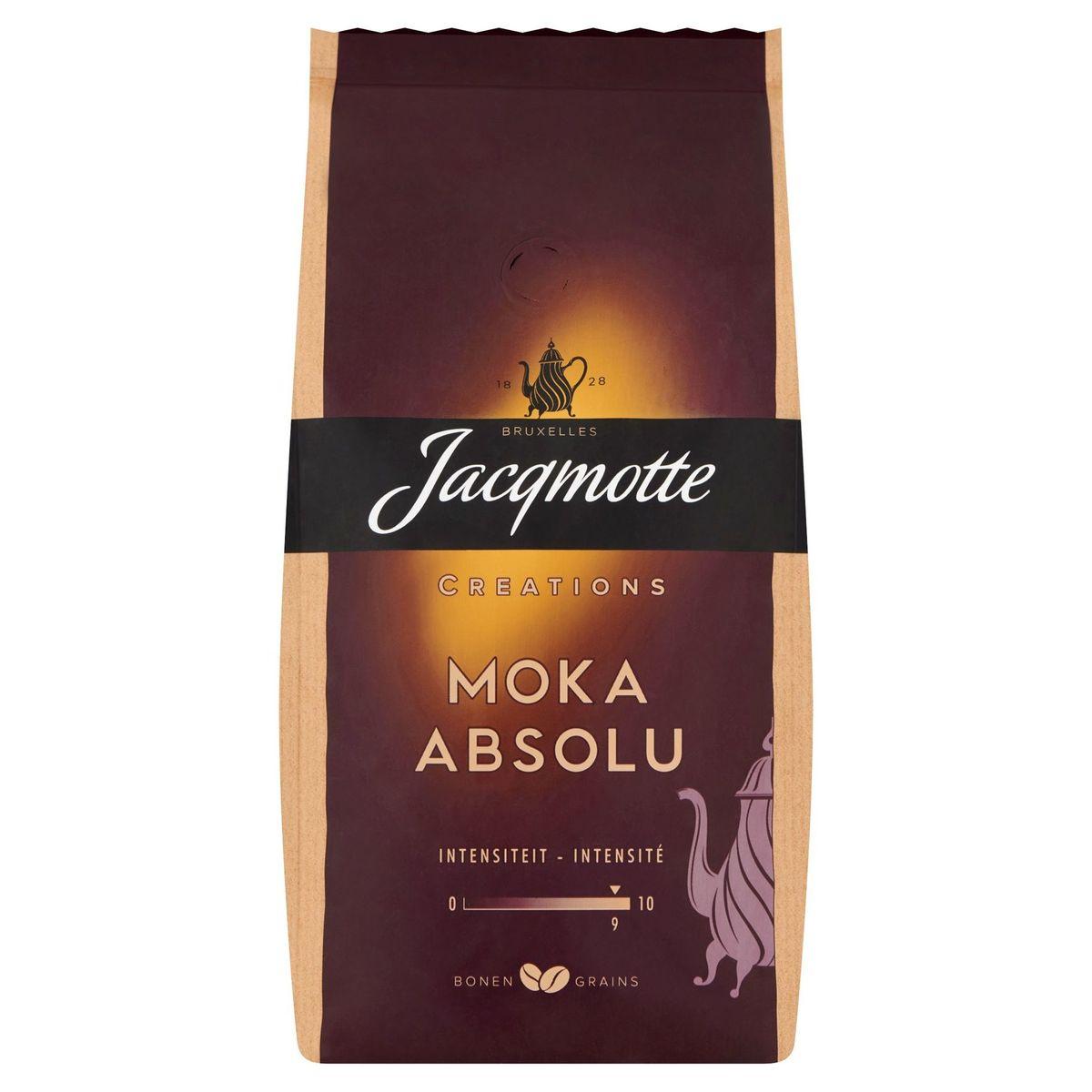 JACQMOTTE Café Grains  Moka Absolu 500g