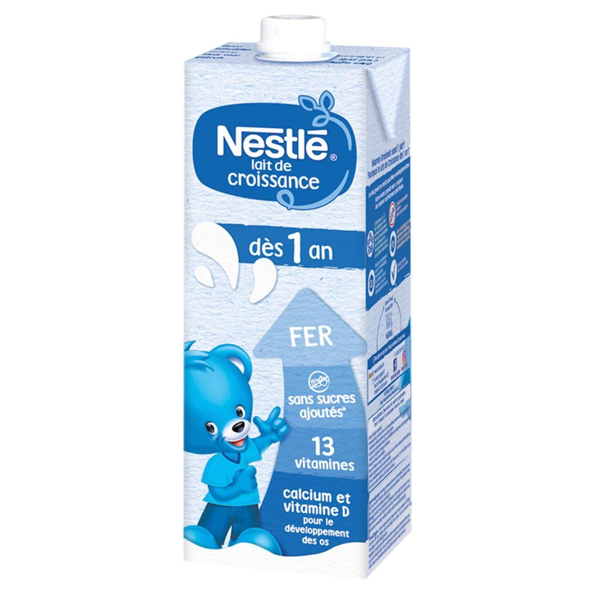Nestlé Lait de Croissance 1+ dès 1 An 1 L