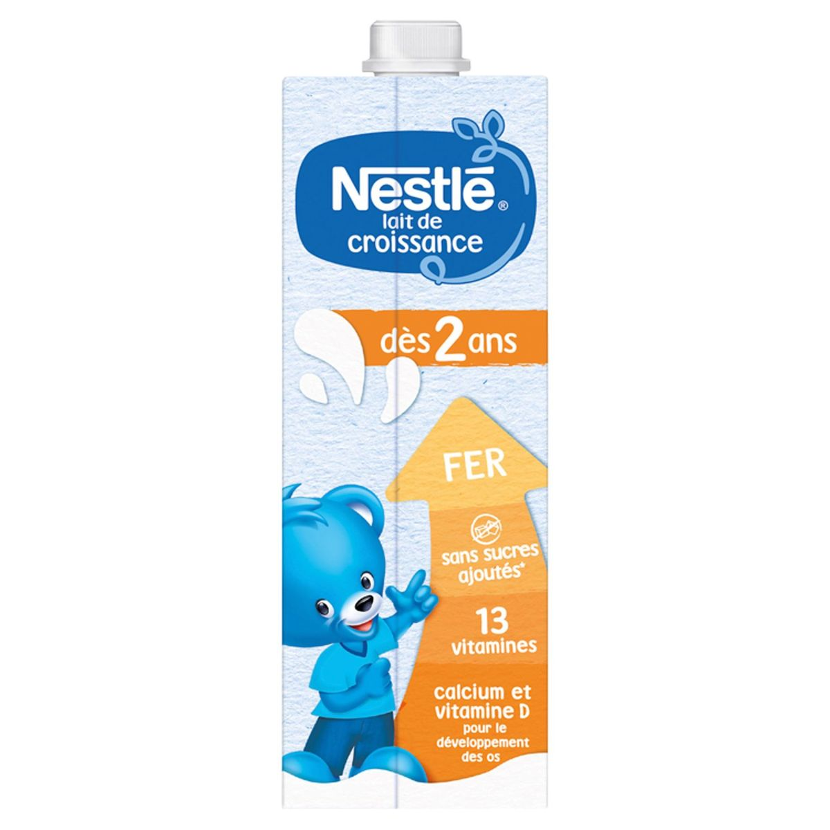 Nestlé® Groeimelk 2+ vanaf 2 Jaar 6 x 1 L