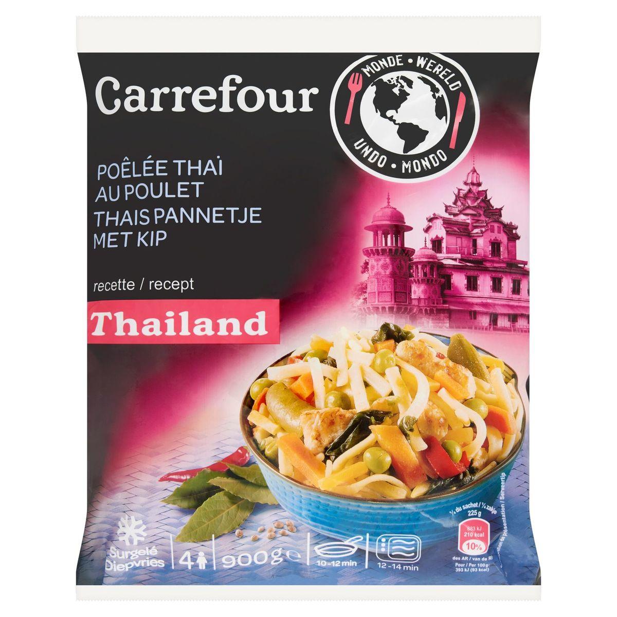 Carrefour Monde Poêlée Thaï au Poulet 900 g