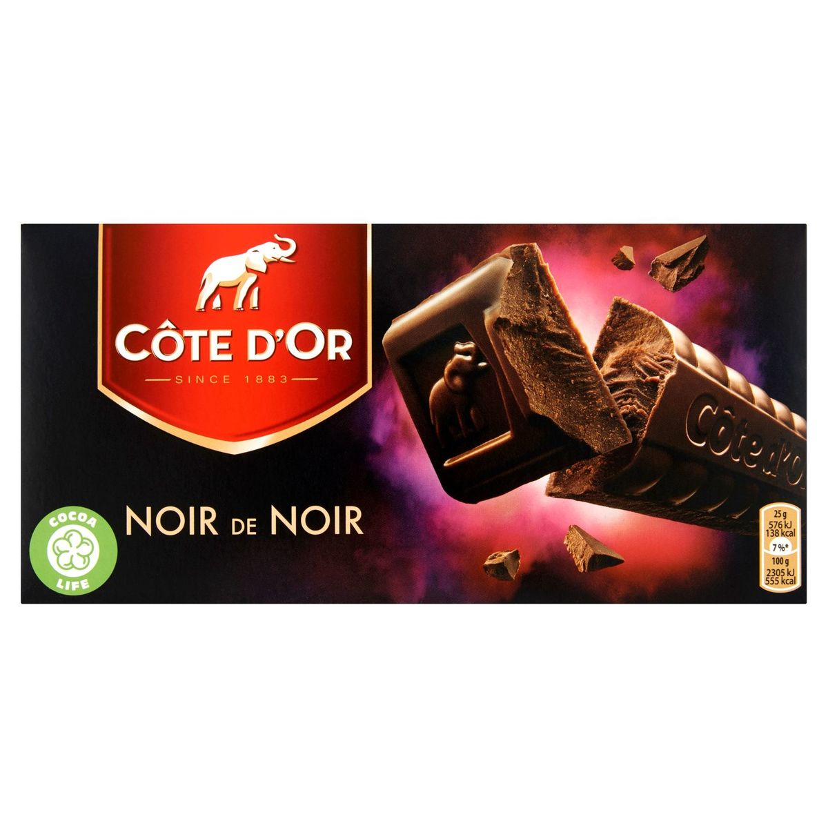 Côte d'Or Noir de Noir 2 x 200 g