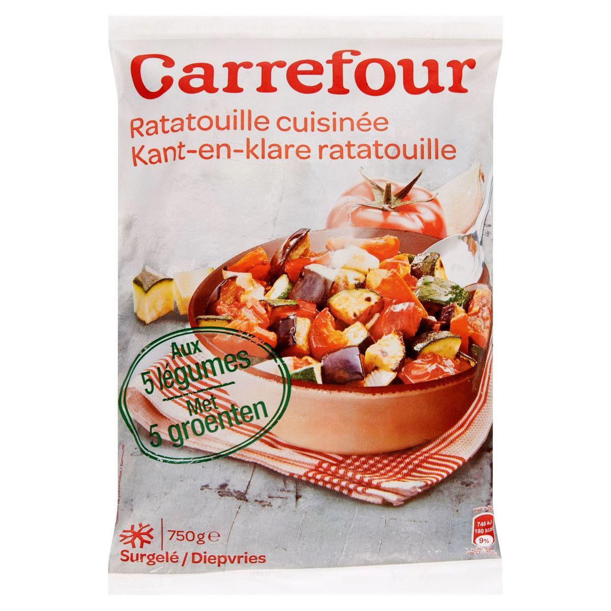 Carrefour Ratatouille Cuisinée aux 5 Légumes 750 g