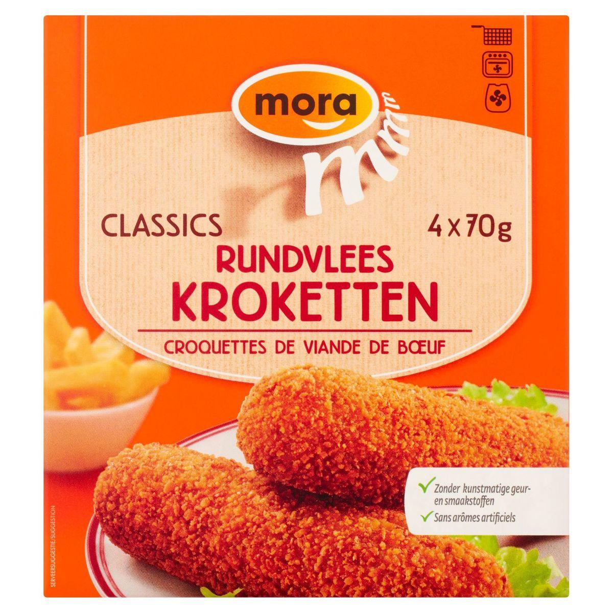 Mora Classics Rundvlees Kroketten 4 x 70 g