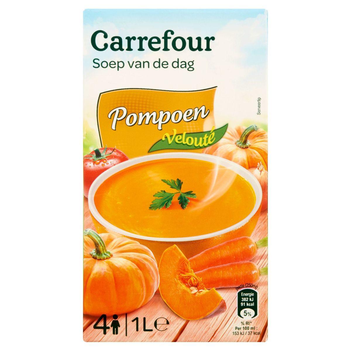 Carrefour Soep van de Dag Pompoen Velouté 1 L