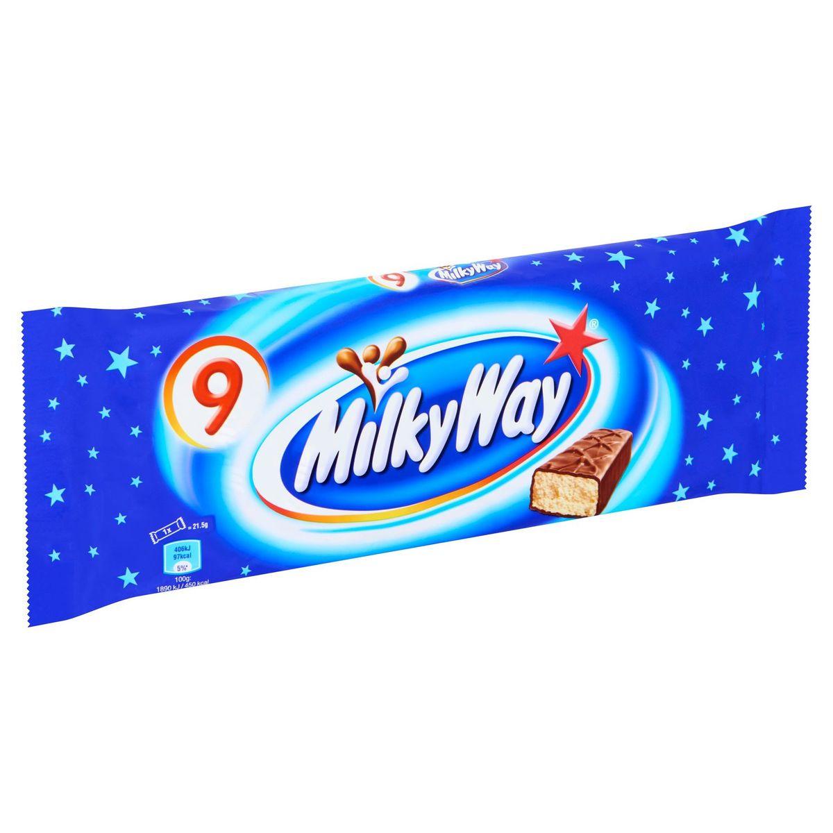 Milky Way 9 x 21.5 g