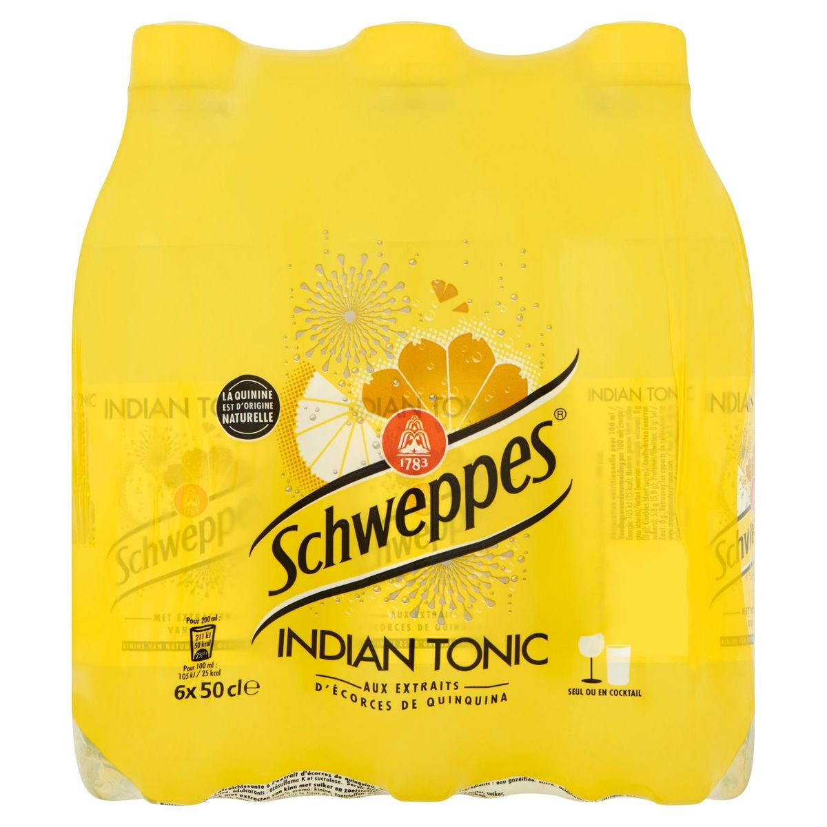 Schweppes Indian Tonic 6x50cl