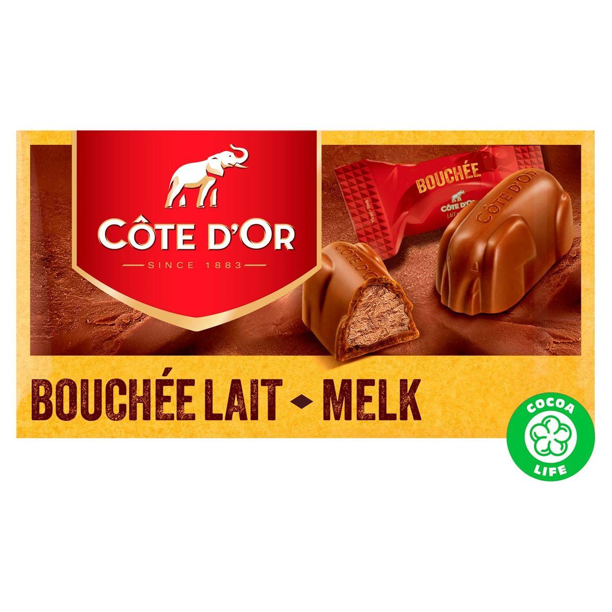 Côte d'Or Bouchée Lait 8 x 25 g