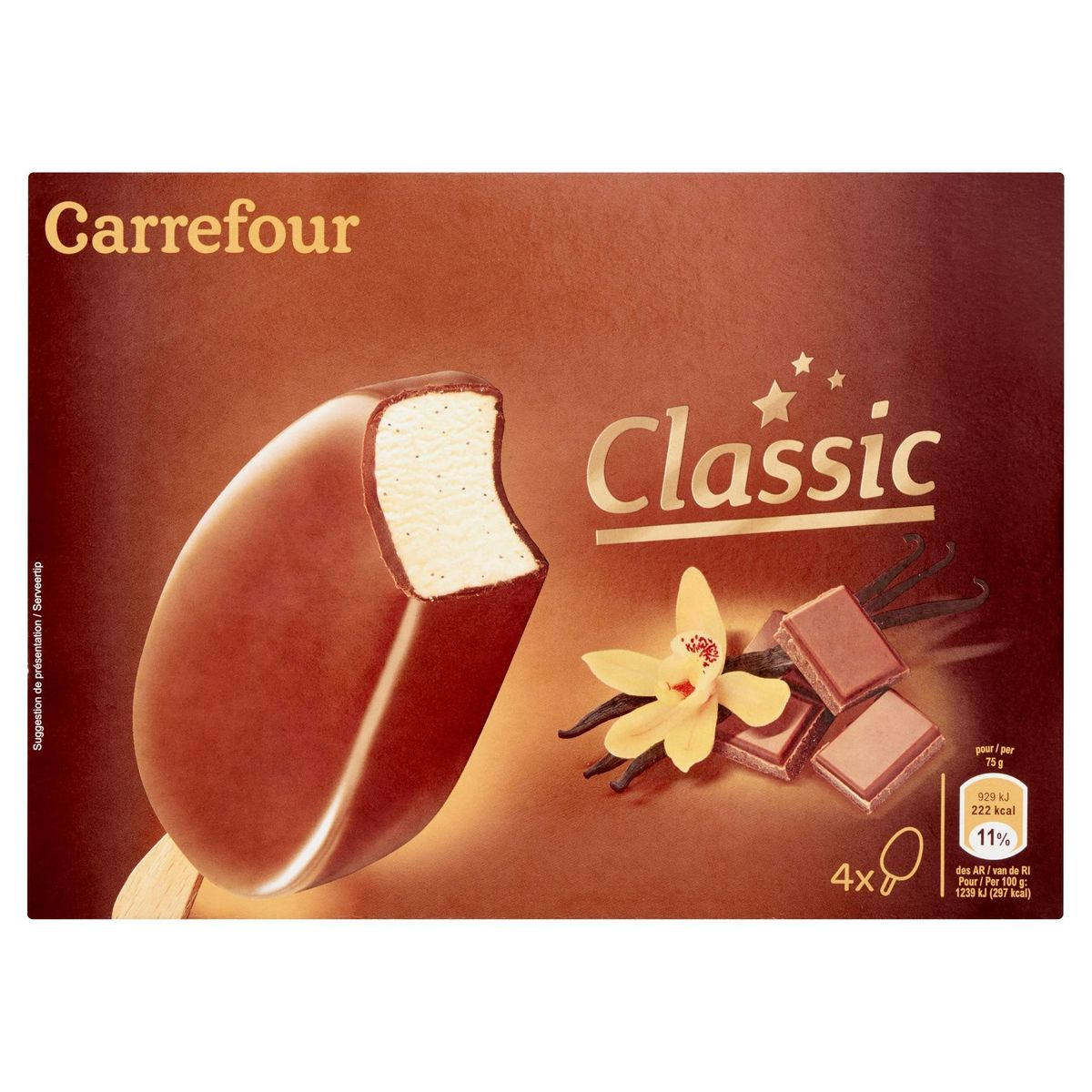 Carrefour Classic 4 x 75 g