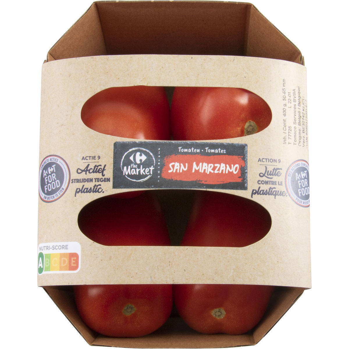 Carrefour Tomaten San Marzano 400 g