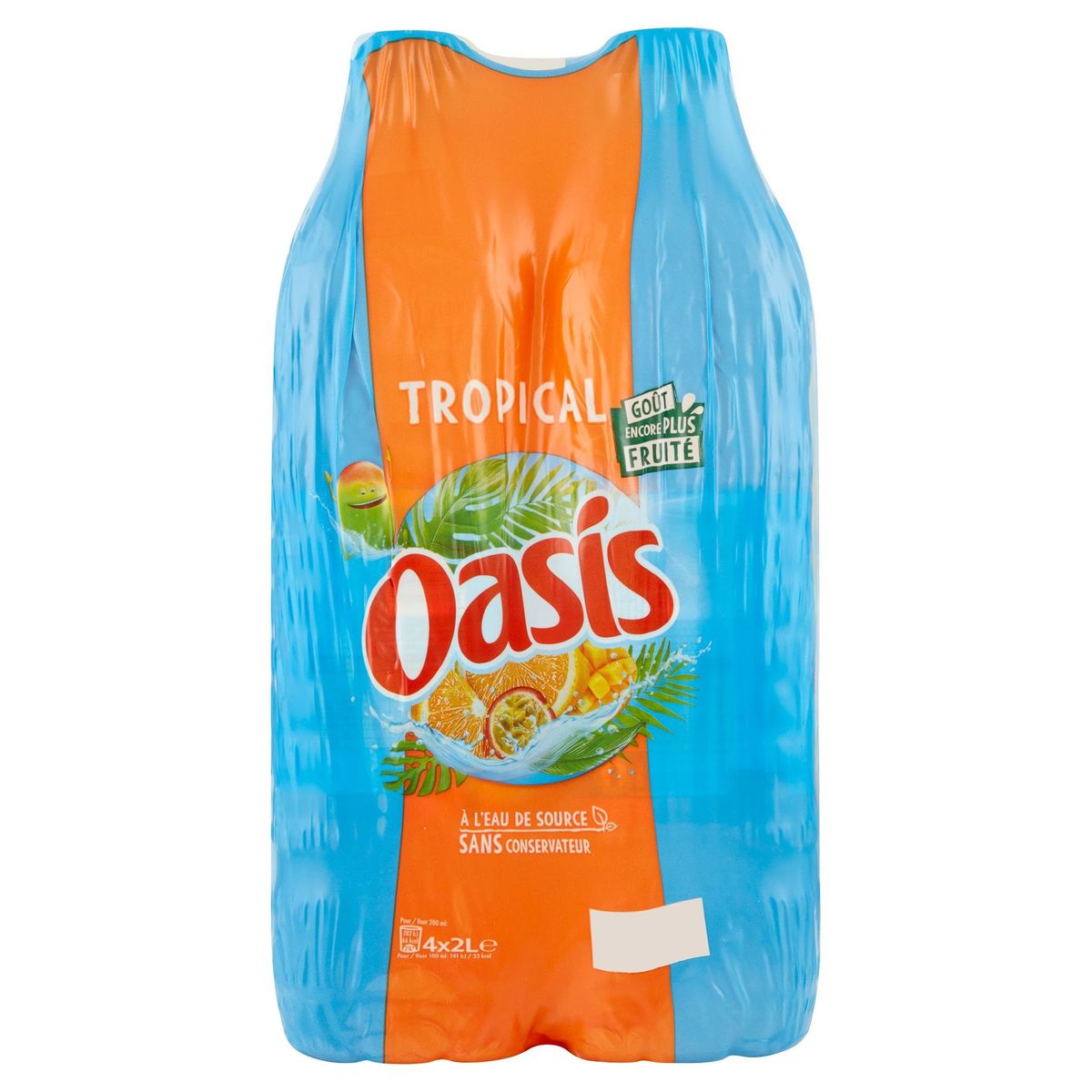 Oasis Tropical Family Pack 4 x 2 L