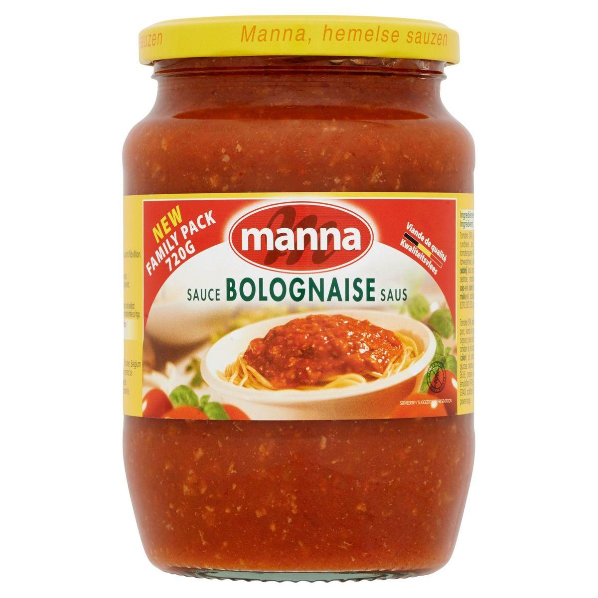 Manna Sauce Bolognaise 720 g