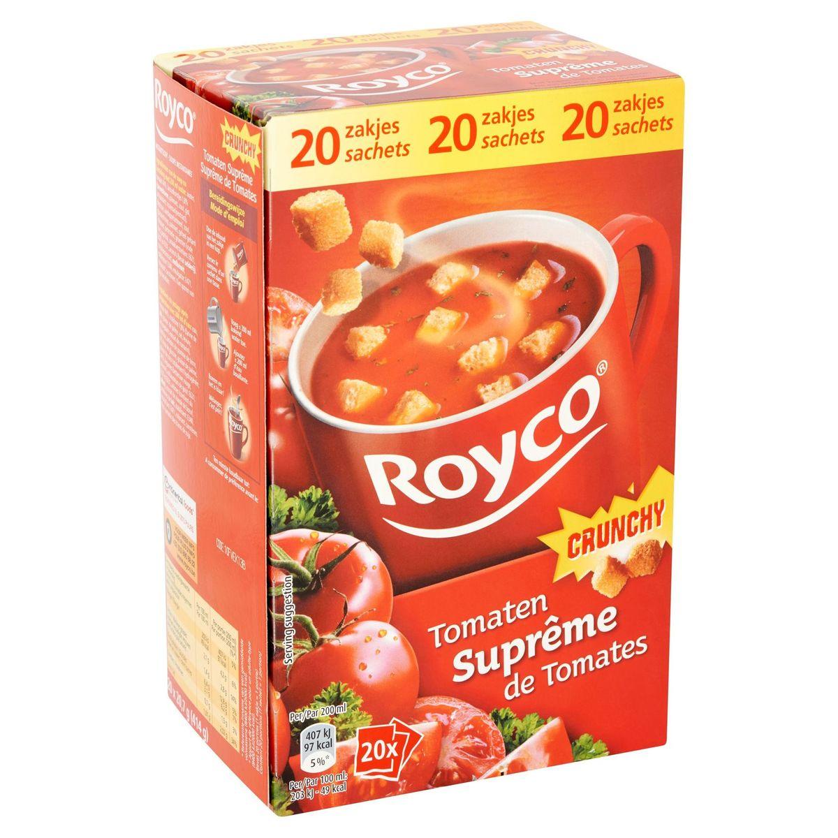 Royco Crunchy Tomaten Suprême 20 x 20.7 g