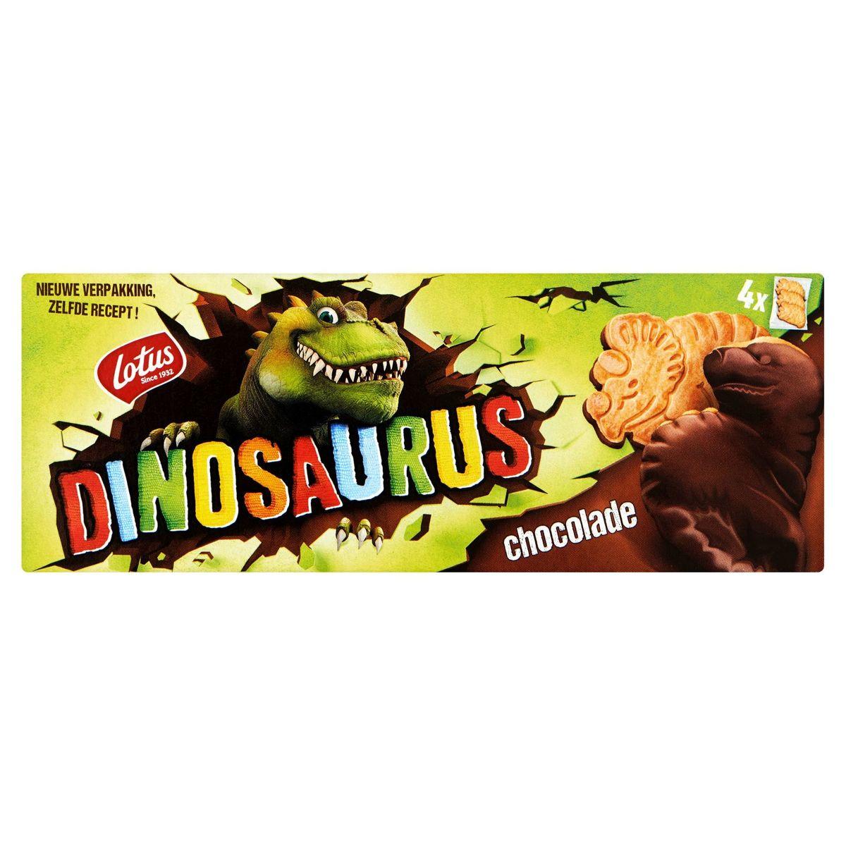 Lotus Dinosaurus Chocolat 4 Sachets 225 g